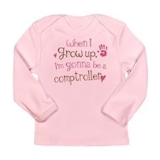 Kids Future Comptroller Long Sleeve Infant T-Shirt