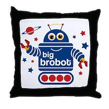 Robot Big Brother Throw Pillow