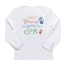 Kids Future Cpa Long Sleeve Infant T-Shirt