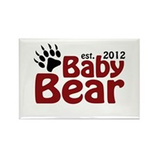 Baby Bear Claw 2012 Rectangle Magnet