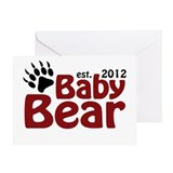 Baby Bear Claw 2012 Greeting Card