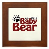 Baby Bear Claw 2012 Framed Tile