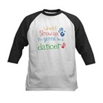 Kids Future Dancer Kids Baseball Jersey