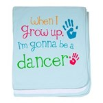 Kids Future Dancer baby blanket