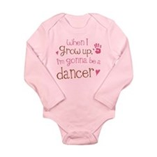 Kids Future Dancer Long Sleeve Infant Bodysuit