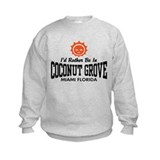 Coconut Grove Fl Sweatshirt