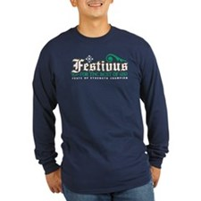 Long Sleeve Festivus Dark T-Shirt