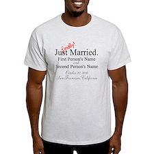 Finally Married T-Shirt