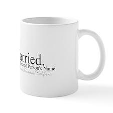 Finally Married Small Mugs