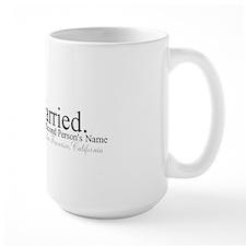 Finally Married Ceramic Mugs