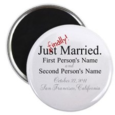 Finally Married Magnet