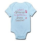 Kids Future Drama Teacher Onesie