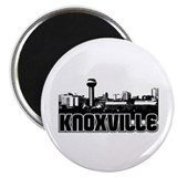 Knoxville Skyline Magnet