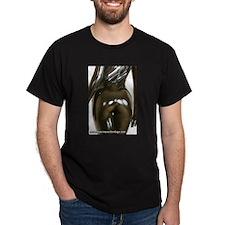 Black Rubber Bum T-Shirt