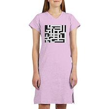 Unique Crossword Women's Nightshirt
