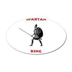 Spartan King 22x14 Oval Wall Peel