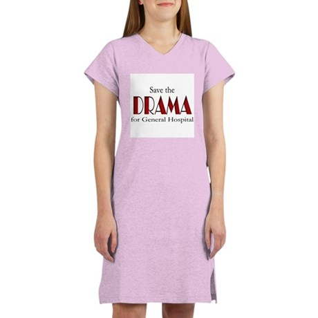 Drama on General Hospital Women's Nightshirt