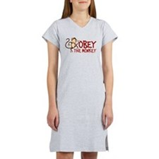 Obey The Monkey Women's Light Pajamas