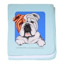 English Bulldog Lover baby blanket
