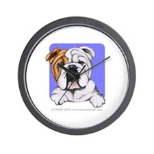 English Bulldog Lover Wall Clock