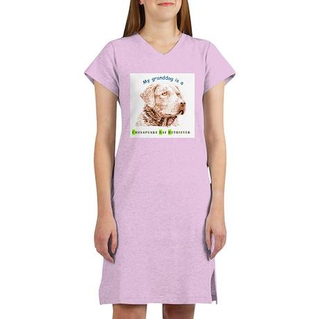 My Grandog(F/B) Women's Nightshirt