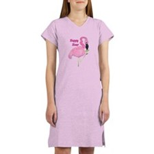 FLAMINGO COCKTAIL Women's Nightshirt
