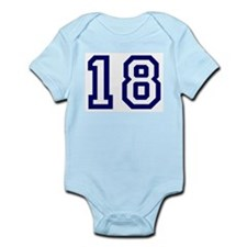 Number 18 Infant Creeper