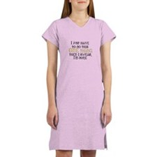 One Thing Women's Nightshirt