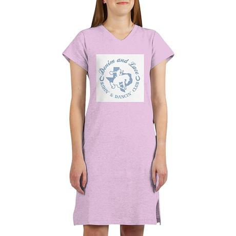 Denim & Lace Women's Nightshirt