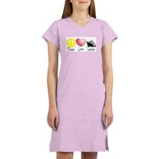 Peace, Love, Cruises Women's Nightshirt