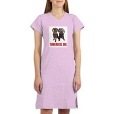 TENNIS ROCKS. DOG. Women's Nightshirt