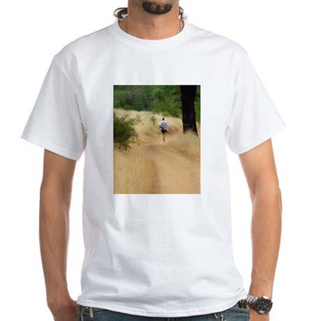 Runner White T-Shirt