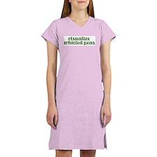 VISUALIZE PEAS Women's Nightshirt