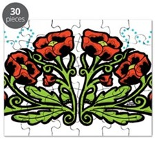 Ukrainian Poppies Puzzle