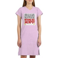 Nothing But Jackpot Women's Nightshirt