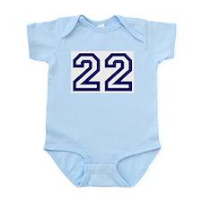 Number 22 Infant Creeper