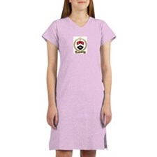 ARSENAULT Family Crest Women's Pink Nightshirt