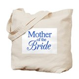 Mother of the Bride (blue) Tote Bag