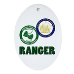 Riverside County Ranger Ornament (Oval)