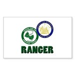 Riverside County Ranger Sticker (Rectangle 50 pk)