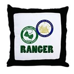 Riverside County Ranger Throw Pillow