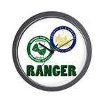 Riverside County Ranger Wall Clock