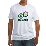 Riverside County Ranger Fitted T-Shirt