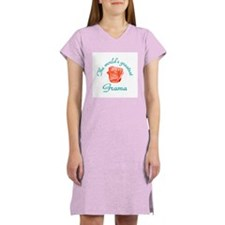 World's Greatest Grama Women's Pink Nightshirt