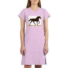 TWH, Need I Say More? Women's Pink Nightshirt