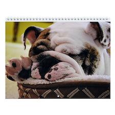"""Bulldog Wall Calendar """"D"""""""