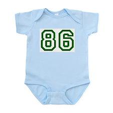 Number 86 Infant Creeper