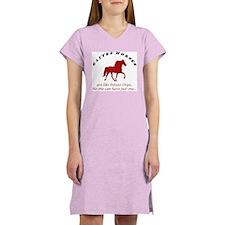 Gaited Horses are like Potato Women's Pink Nightsh
