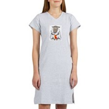 """Knitting Sheep"" Women's Pink Nightshirt"