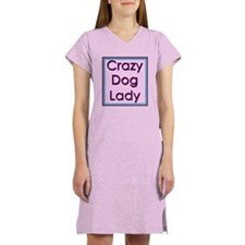 Crazy Dog Lady Women's Nightshirt